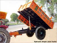 Hydraulic Single Jack Trailer