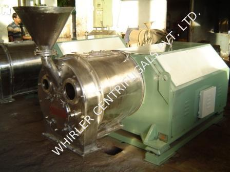 Horizontal Basket Pusher Centrifuge