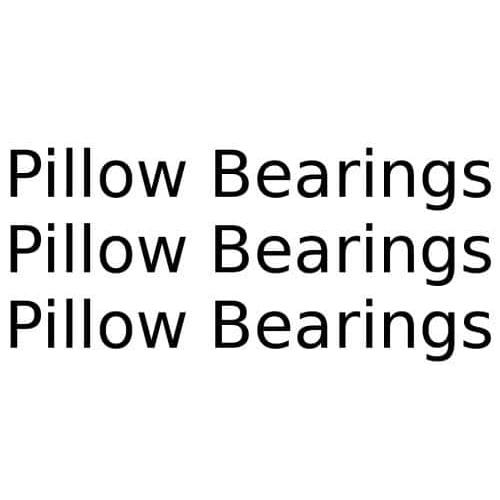 Conveyor Pillow Bearings