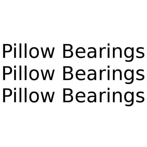 Conveyor Pillow Bearings