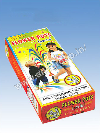 Flower Pots Crackers