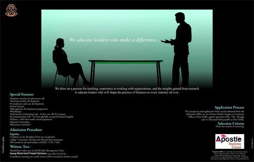 Educational Print Advertising