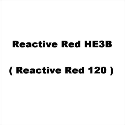 Reactive Red HE3B Dyes