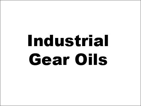 Industrial Gear Oils
