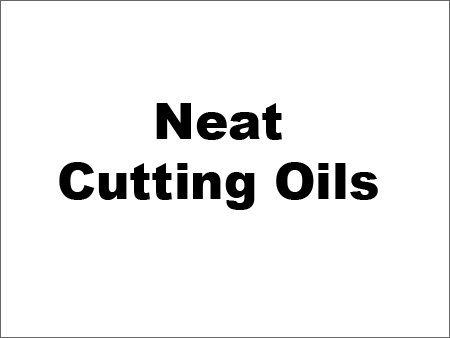 Metal Working Oils
