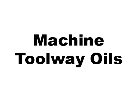 Machine Toolway Oils