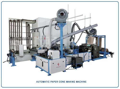Automatic Paper Cone Making Machine with Online Drier