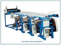 Paper Cone Winding and Glueing Machine