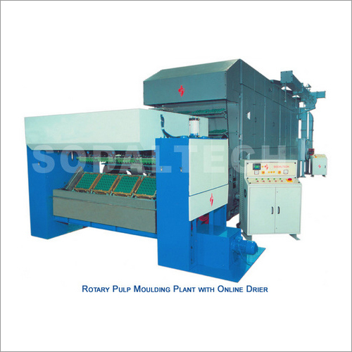 Rotary Pulp Moulding Plant with Online Drier