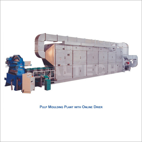 Reciprocating Pulp Moulding Plant