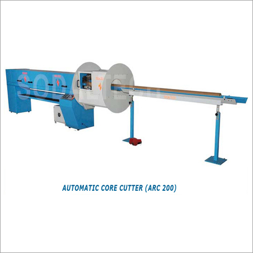 Automatic Programmable Paper Core Cutter