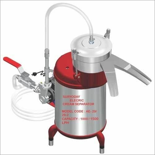 1000/1500 LPH Cream Separator