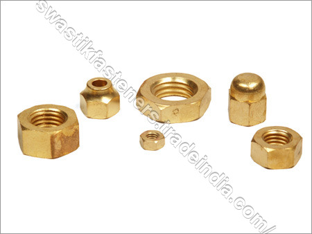 Brass Fasteners Nut