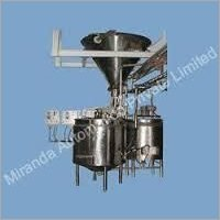 Sugar Syrup Making Machine