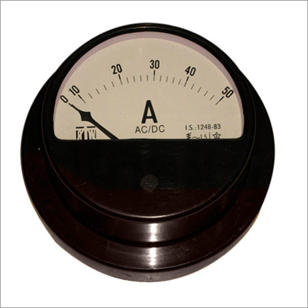 Moving Iron Type Projection  S.O. 96 Round A.C. Ammeter