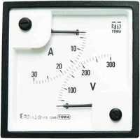 Moving Iron SQ 96 A.C. Dual Range Meters