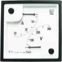 Moving Iron SQ 96 A.C. Dual Range Meters