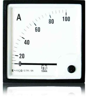 Moving Iron SQ 96 A.C. Ammeters