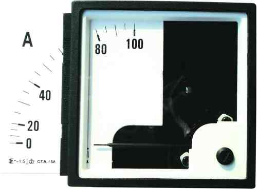 Moving Iron Analog Voltmeter