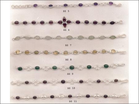 Silver Bazel Bracelets