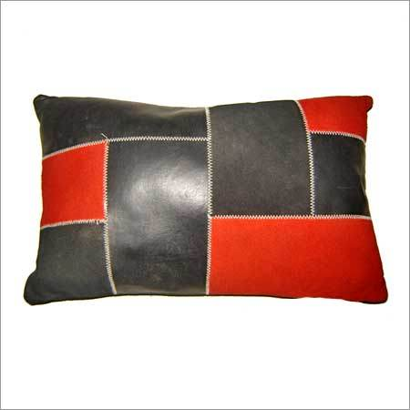 Leather Decorative Pillows