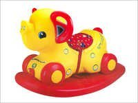 Girnar Elephant 2 in 1 Rocker