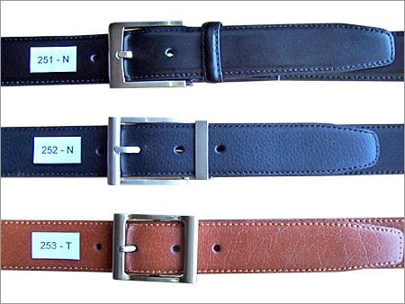 Bonded Leather Belts