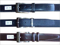 Stiched Leather Belts