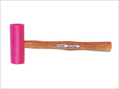 Plastic Pink Mallet Hammer