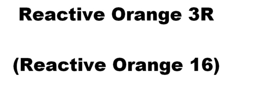 Reactive Orange 3R Dyes