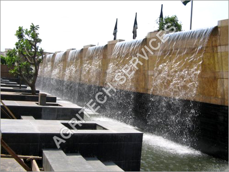 Water Falls & Steel Pools Fountains