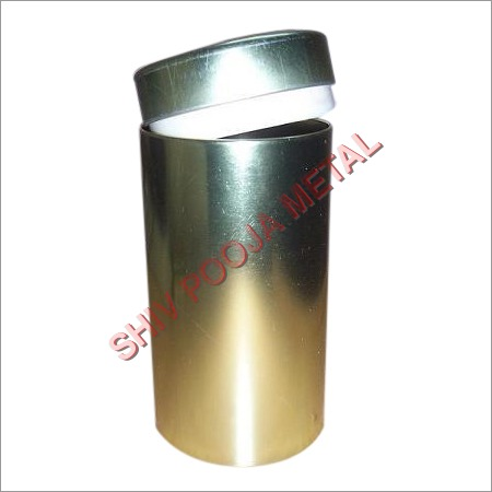 Long Tin Container