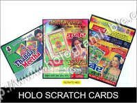 Holo Scratch Cards