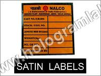 Satin Labels