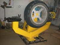Buffing cum lug cutting machine for tractor tyre