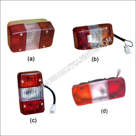 Tail Light Assembly For Three Wheeler