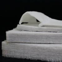 NON WOVEN THERMOBOND FABRIC BY HOT AIR