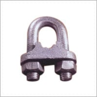 G.I. Wire Rope Clamps