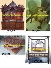 Teak Wood Carved Furniture