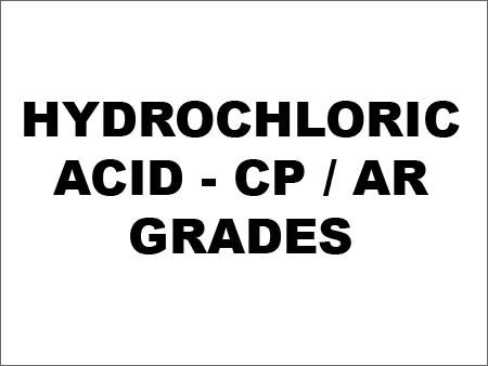 Hydrochloric Acid - CP / AR Grades