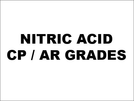 Nitric Acid - CP / AR Grades