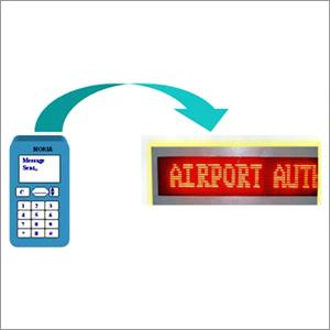 GSM Based Display Wirless Communication