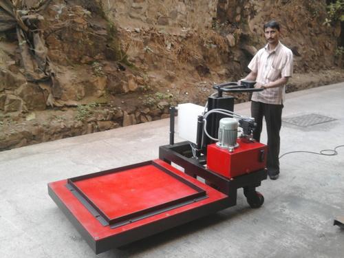 Motorized Hydraulic Platform Trolley