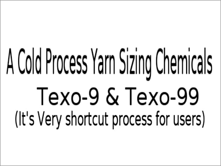 Cold Process Yarn Sizing Chemicals