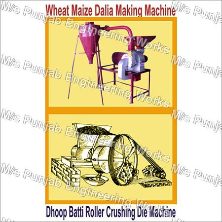 Wheat Maize Dalia Making Machine