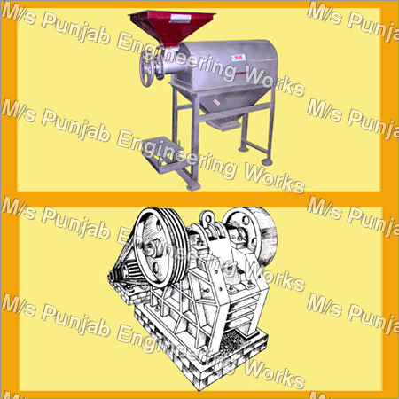 Rotor Siever/Jaw Crusher