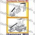 Disintegrator Hammer Mill