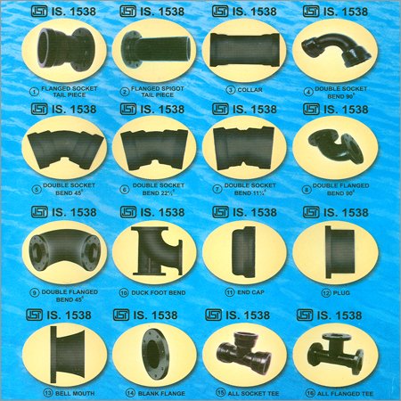 Cast Iron Fittings - Cast Iron Fittings Manufacturer & Supplier