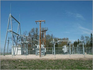 Power Electrical Substation