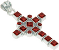 Holly Cross Pendent